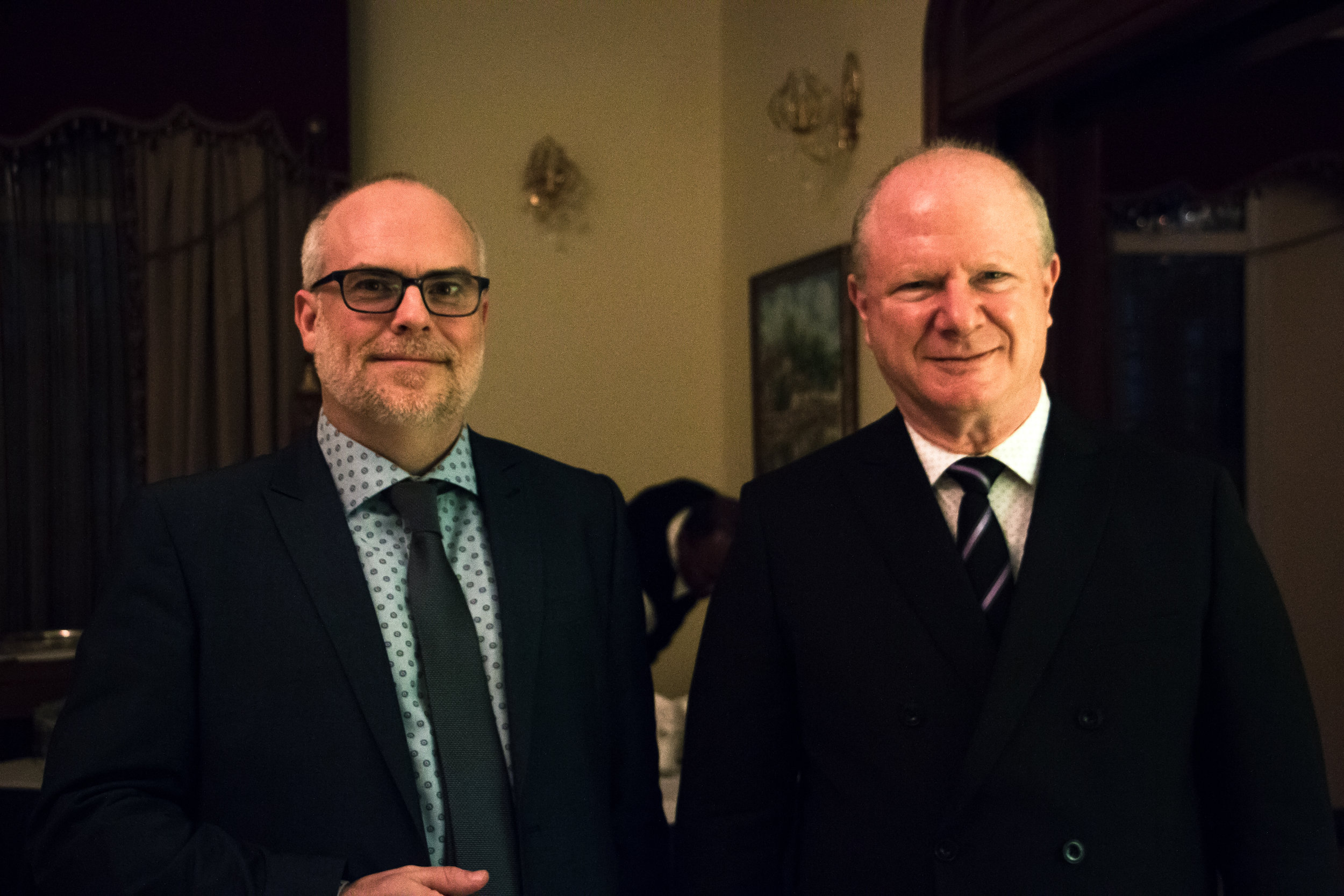 Ambassador Sievers Opened His Home to Our GP & LP Delegation