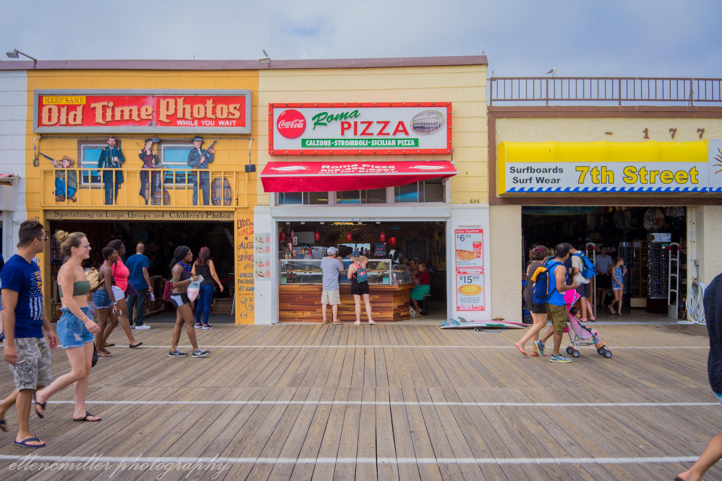 Roma Pizza, OCNJ Boardwalk