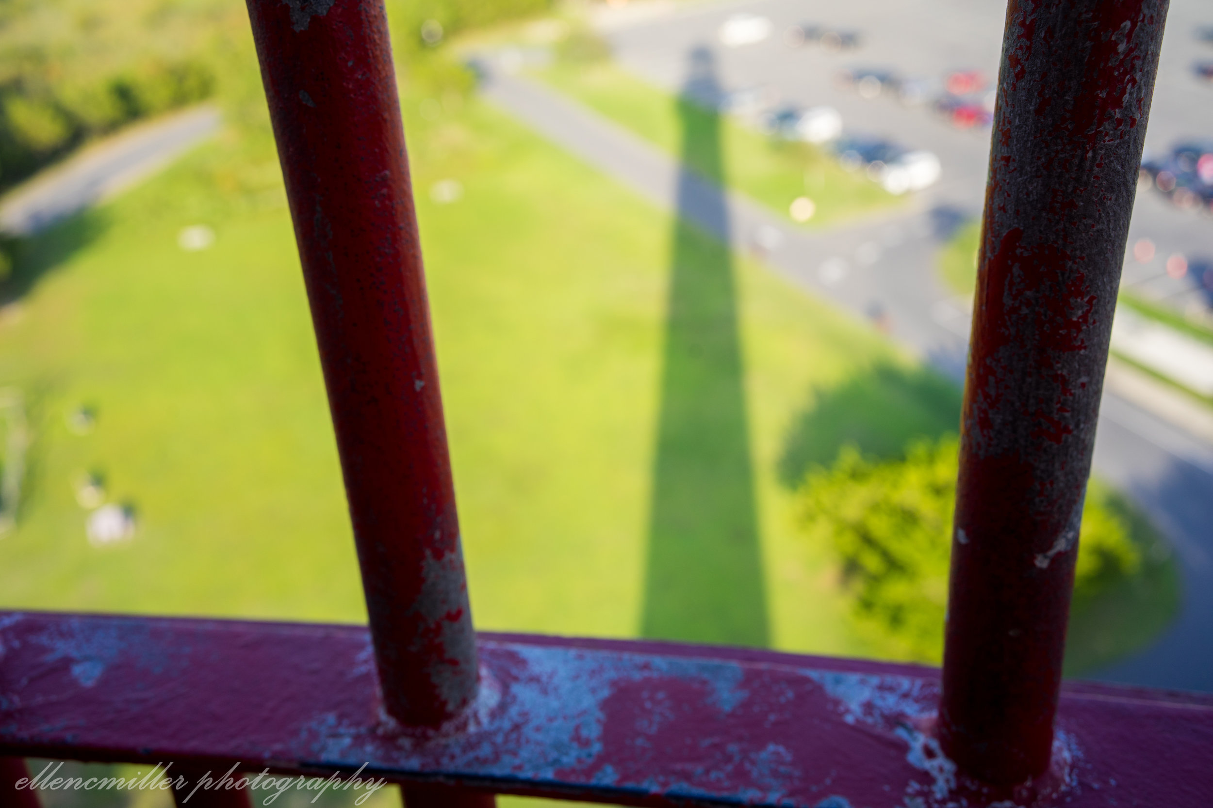 Cape May Lighthouse shadow