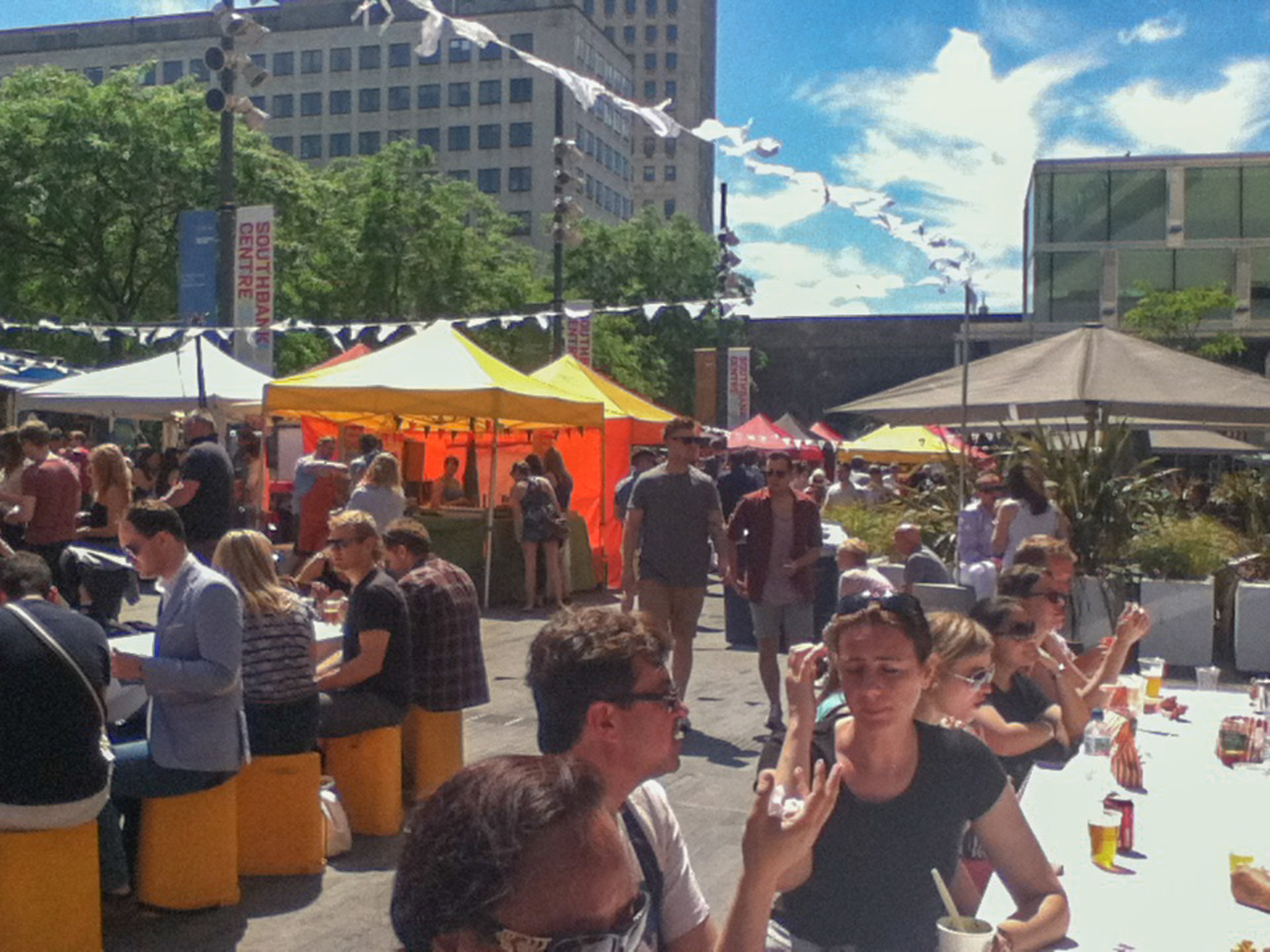 Street Festival in Southbank Centre, London