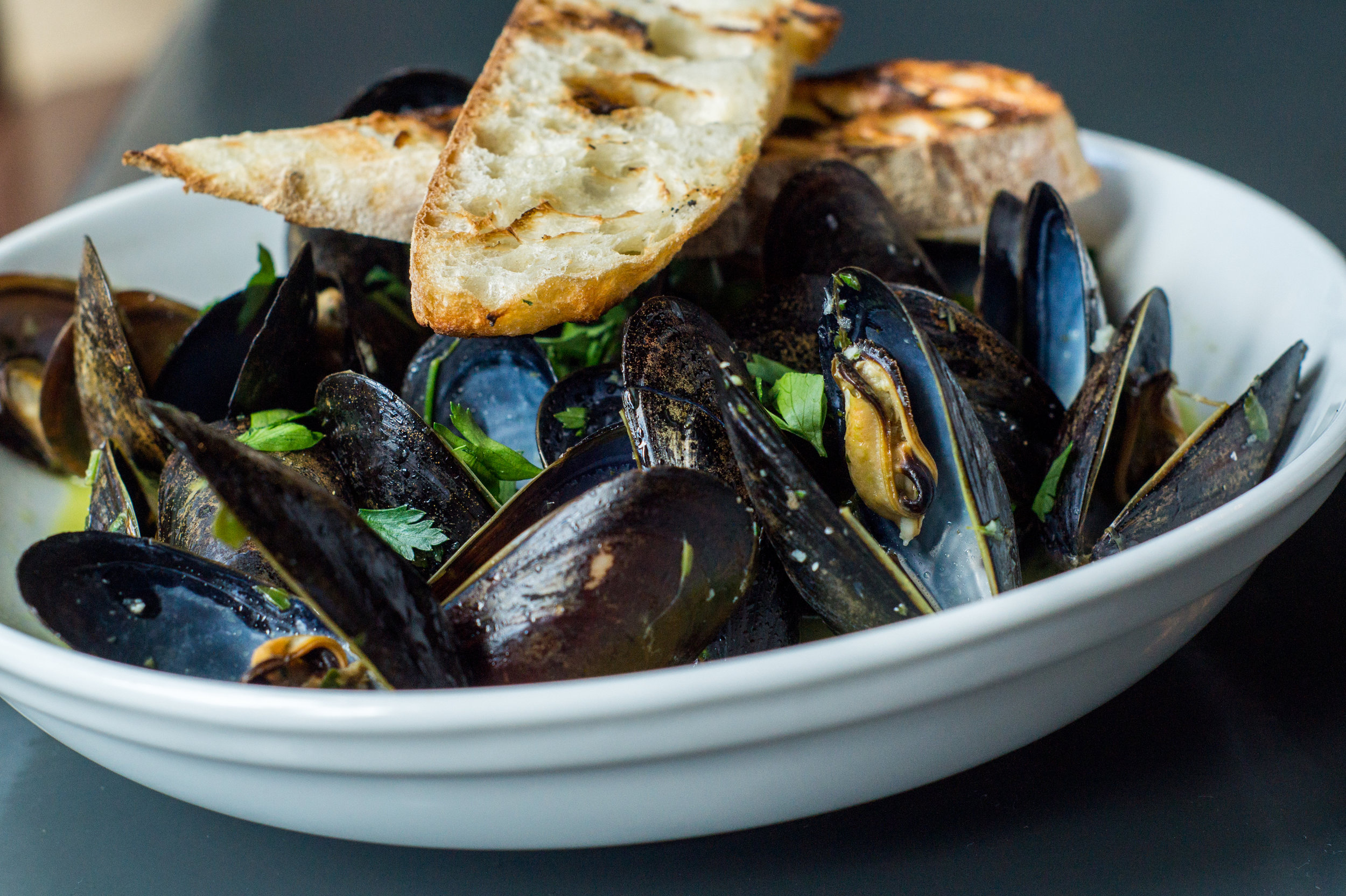 Mussels at Felly Bistro