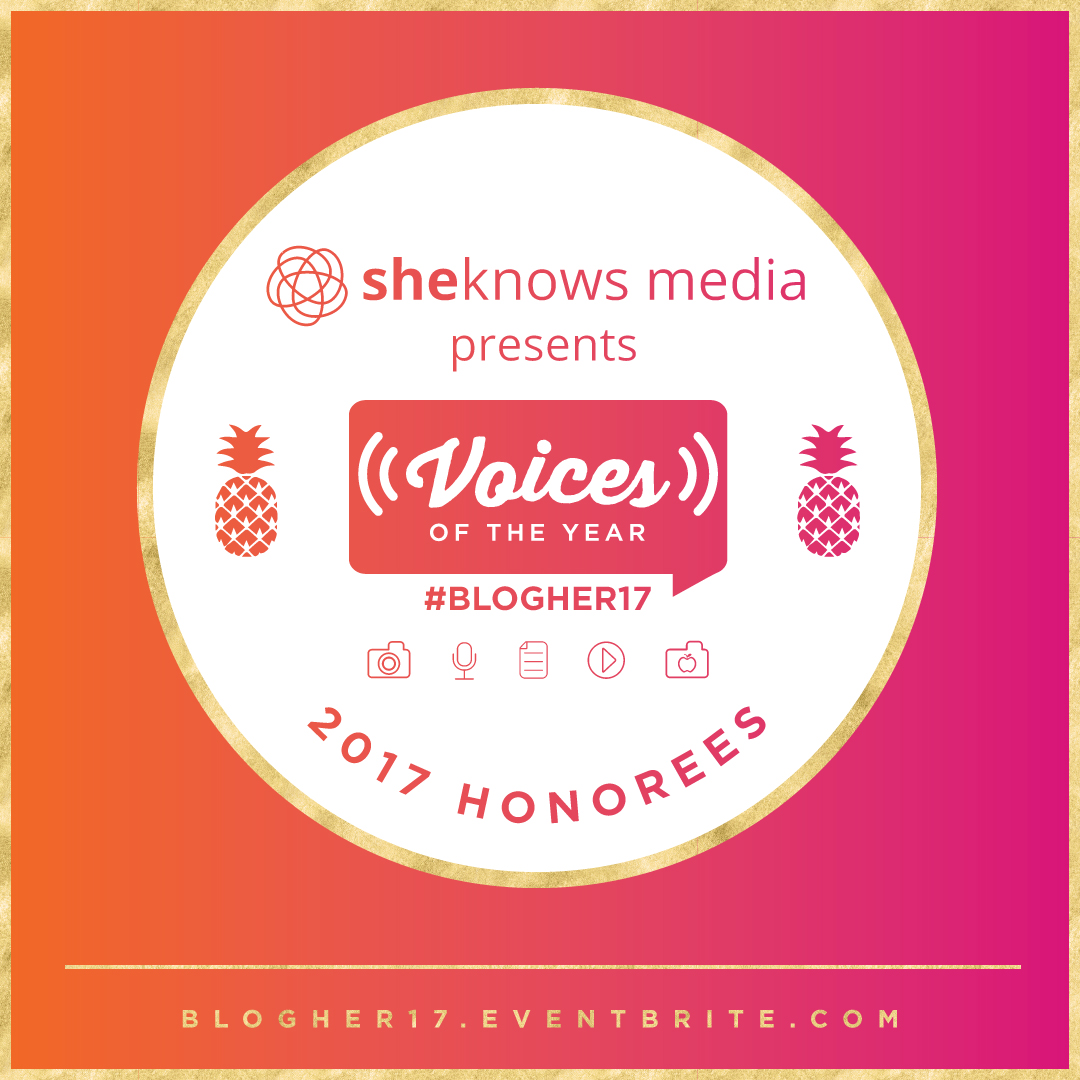 SheKnows Media's Voices of the Year at BlogHer 17