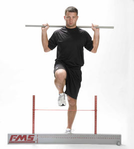 The hurdle step, from Gray Cook Movement