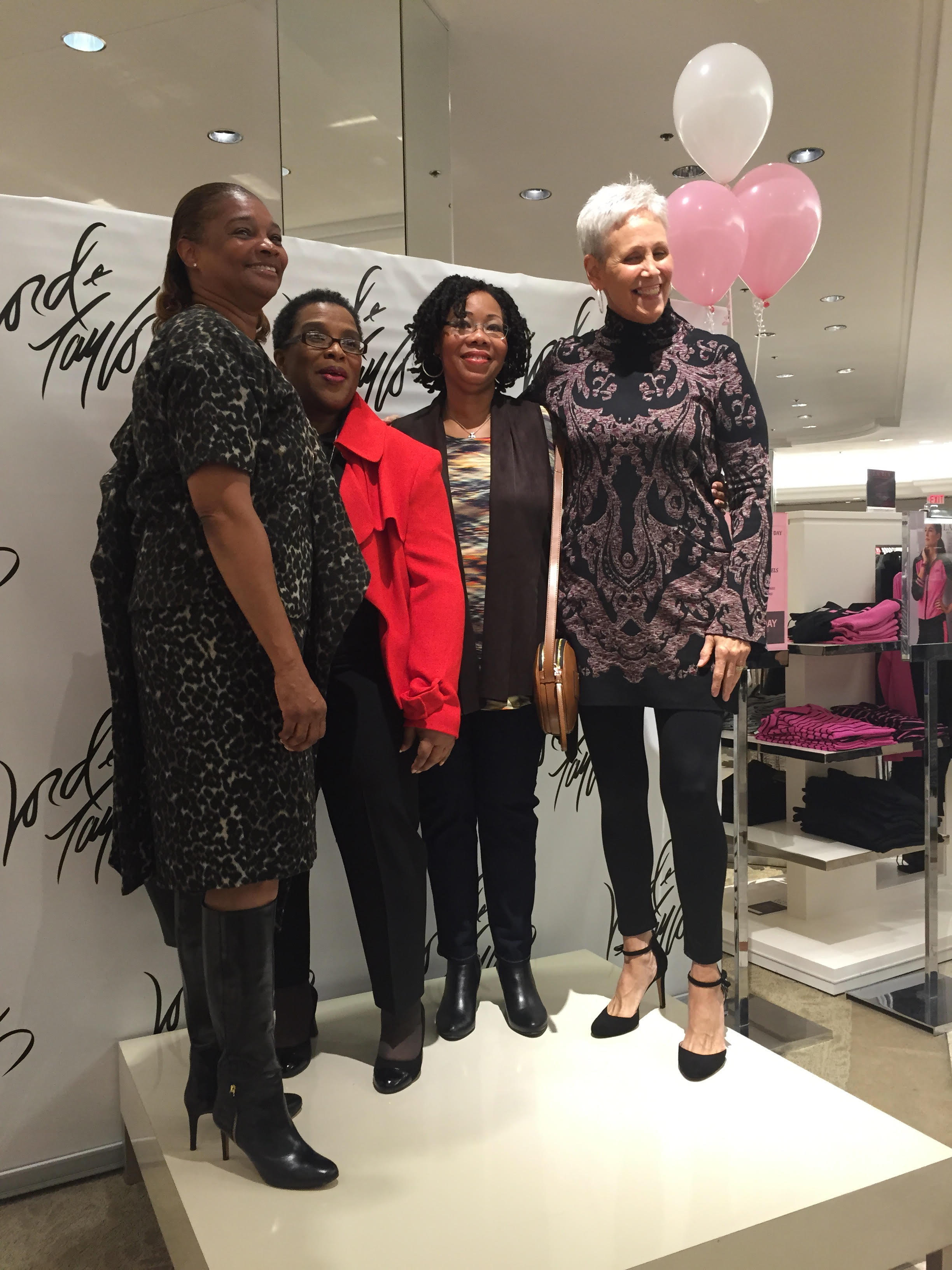 Lord & Taylor Charity Day, September 2015