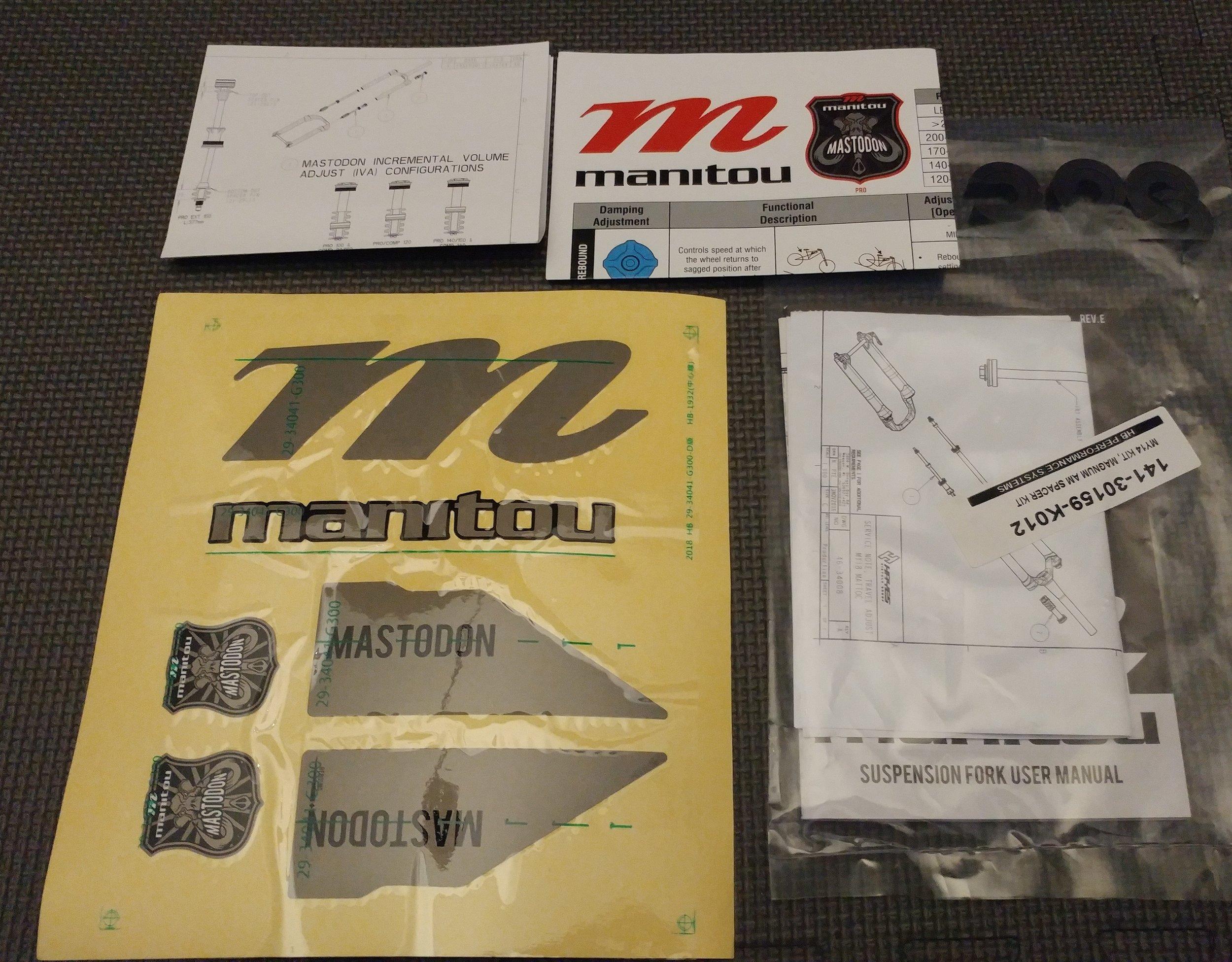 MASTODON - in the box