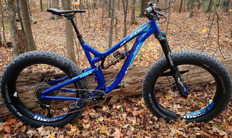 FOES MUTZ150 w/ WREN ATK 150 and FOX FLOAT DPX2 suspension - Custom Built by RideFATbikes.ca