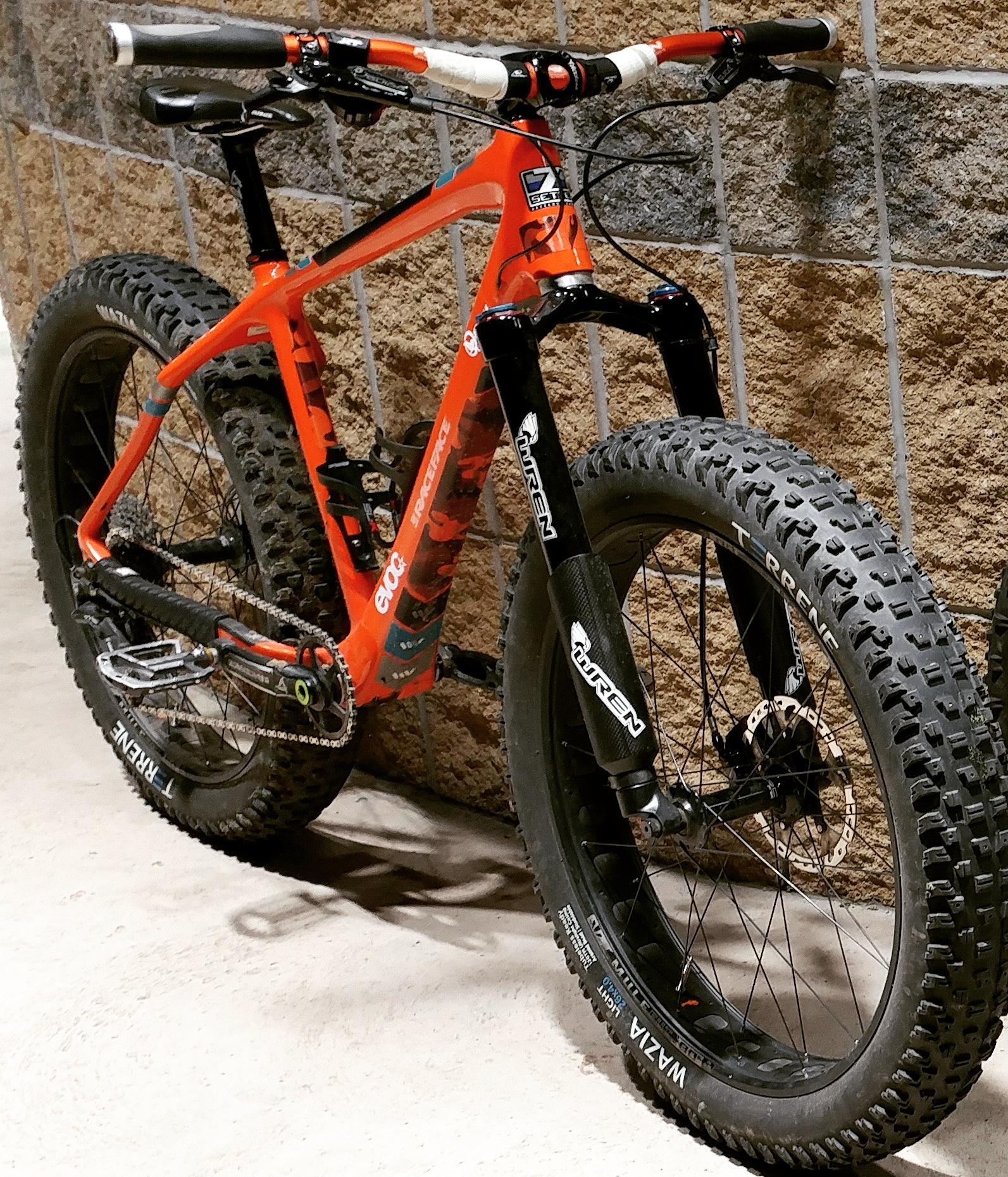 One of the Independent Tester's Fat Bikes - custom built by RideFATbikes.ca