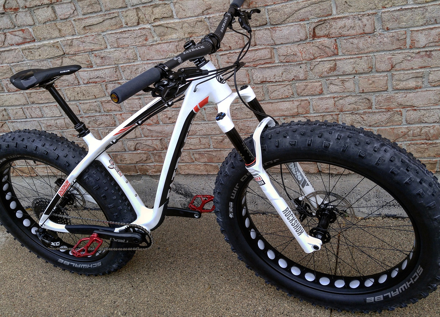 Air suspension fork 20 inch FAT bike shock