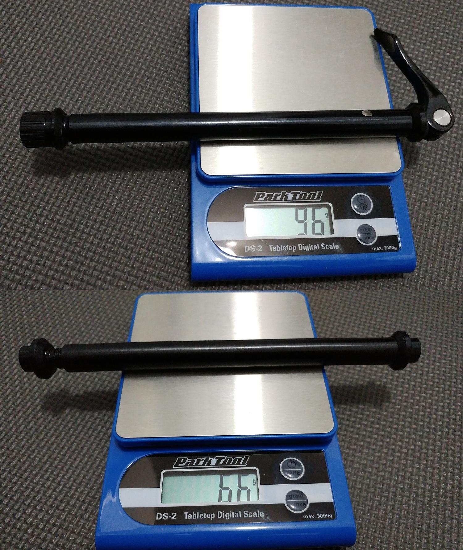 WREN ATK - QR (97gr) and Bolt-on (66gr) 2-piece axles