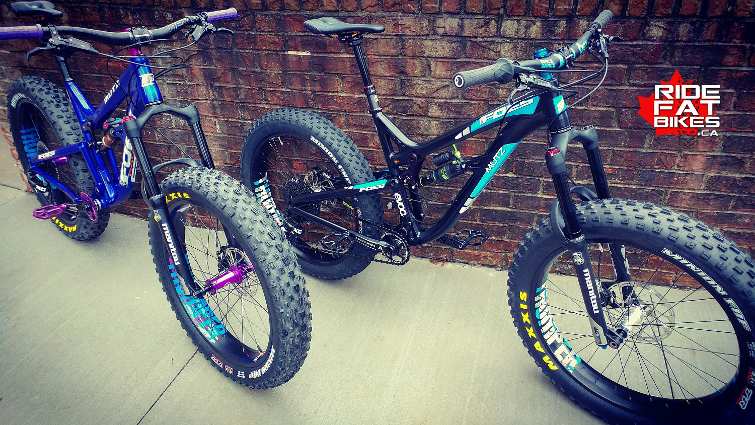 FOES MUTZ 150's - Complete custom builds by RIDEFATBIKES.ca