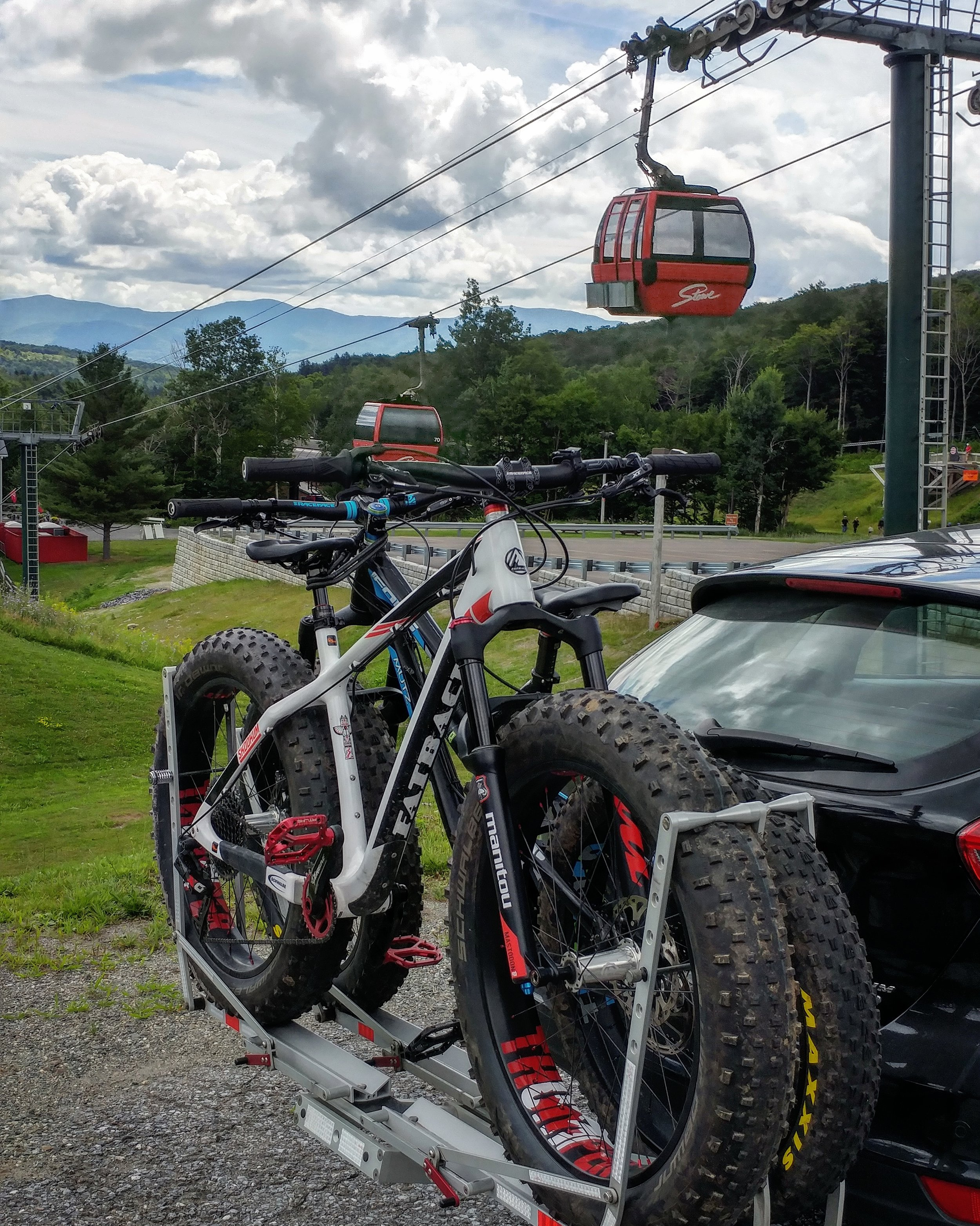 SUSPENSION FORK TESTING AT STOWE VERMONT