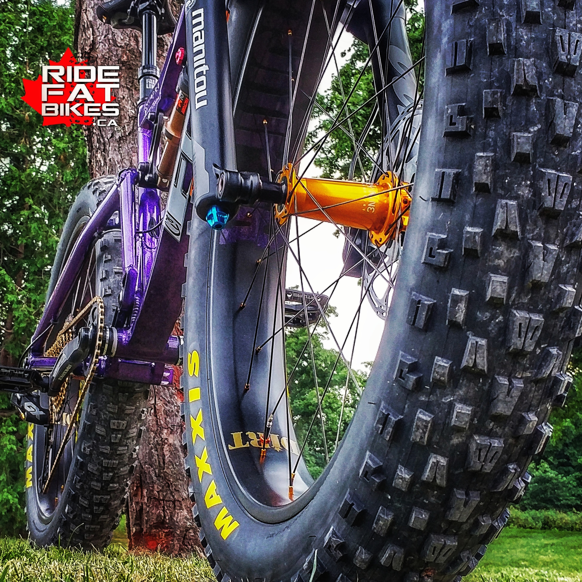 FOES MUTZ 150 - SRAM XX1 EAGLE - 32 lbs RACE WEIGHT - custom build by RIdeFATbikes.ca