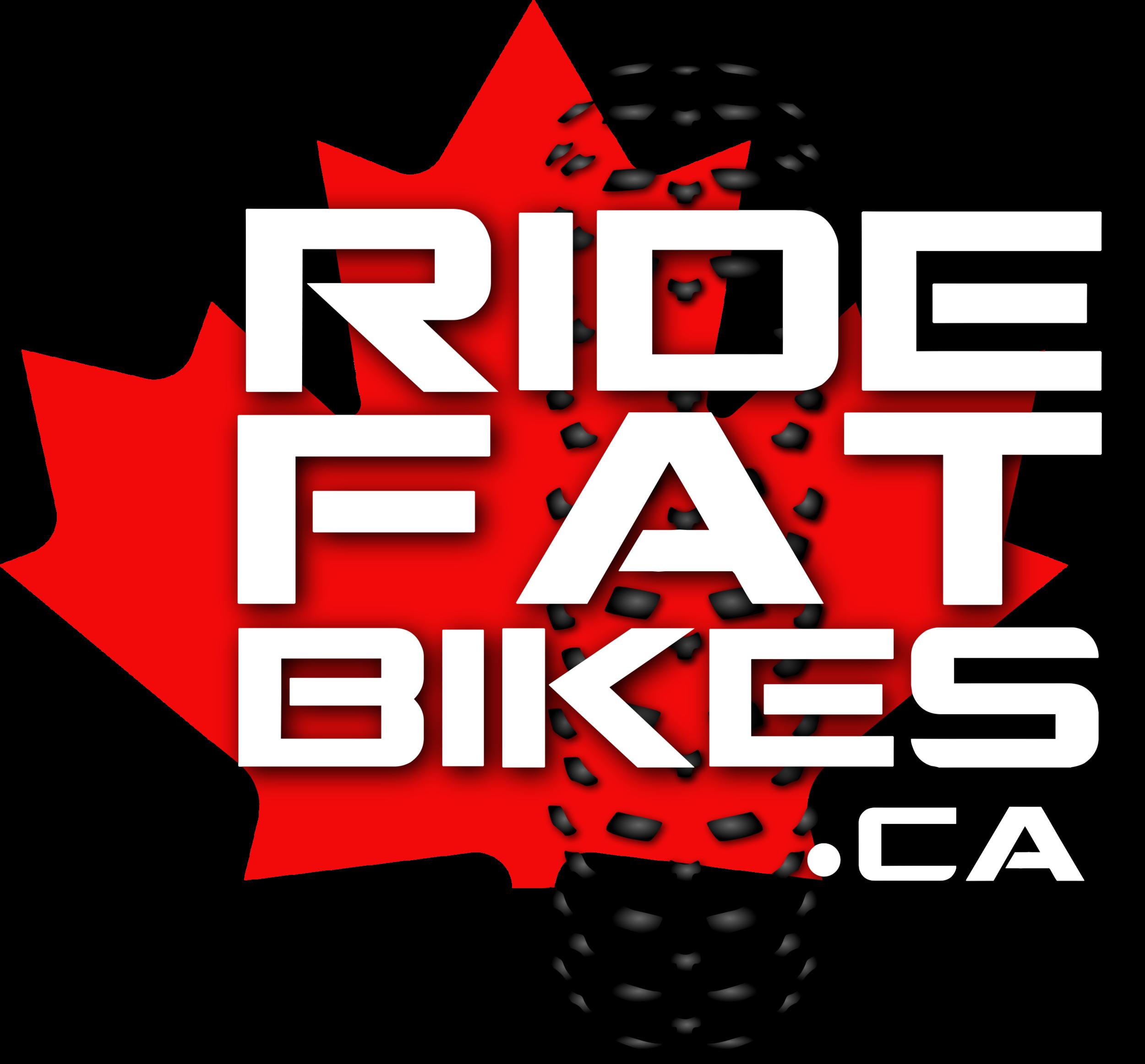 RIDEFATBIKES.ca LOGO - Custom Built Fat bikes in Canada