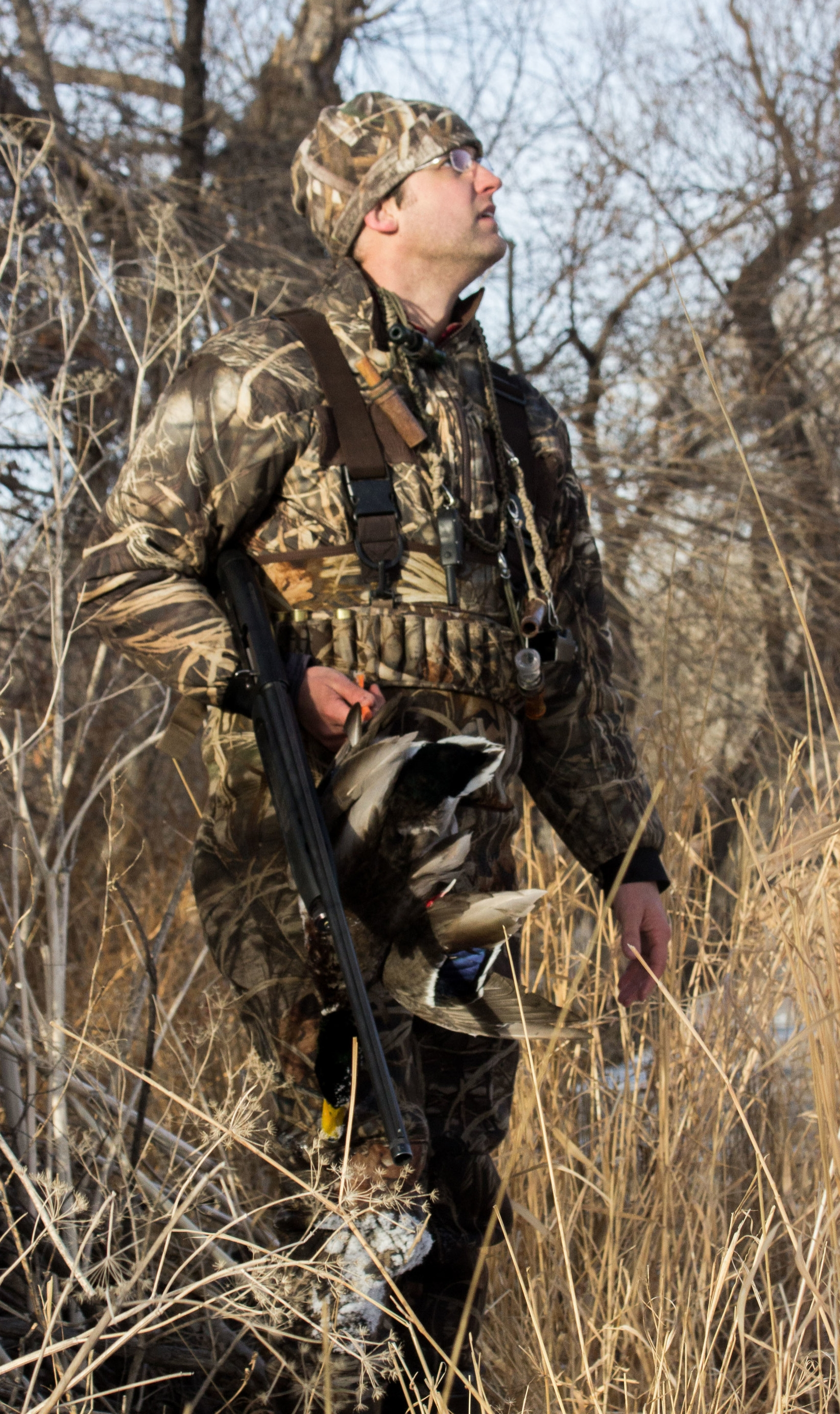 Hunting Attorney Nathaniel Gilbert on a successful duck hunt in Colorado, January 2017.  Nathaniel Gilbert is not only an attorney dedicated to defending hunters accused of violations, but also an avid outdoorsman.  When Nathaniel is not in court, assisting conservation non-profits, or working with individuals regarding pressure from Anti-Hunting organizations, Nathaniel can be found hunting alongside his dog in any of the country.