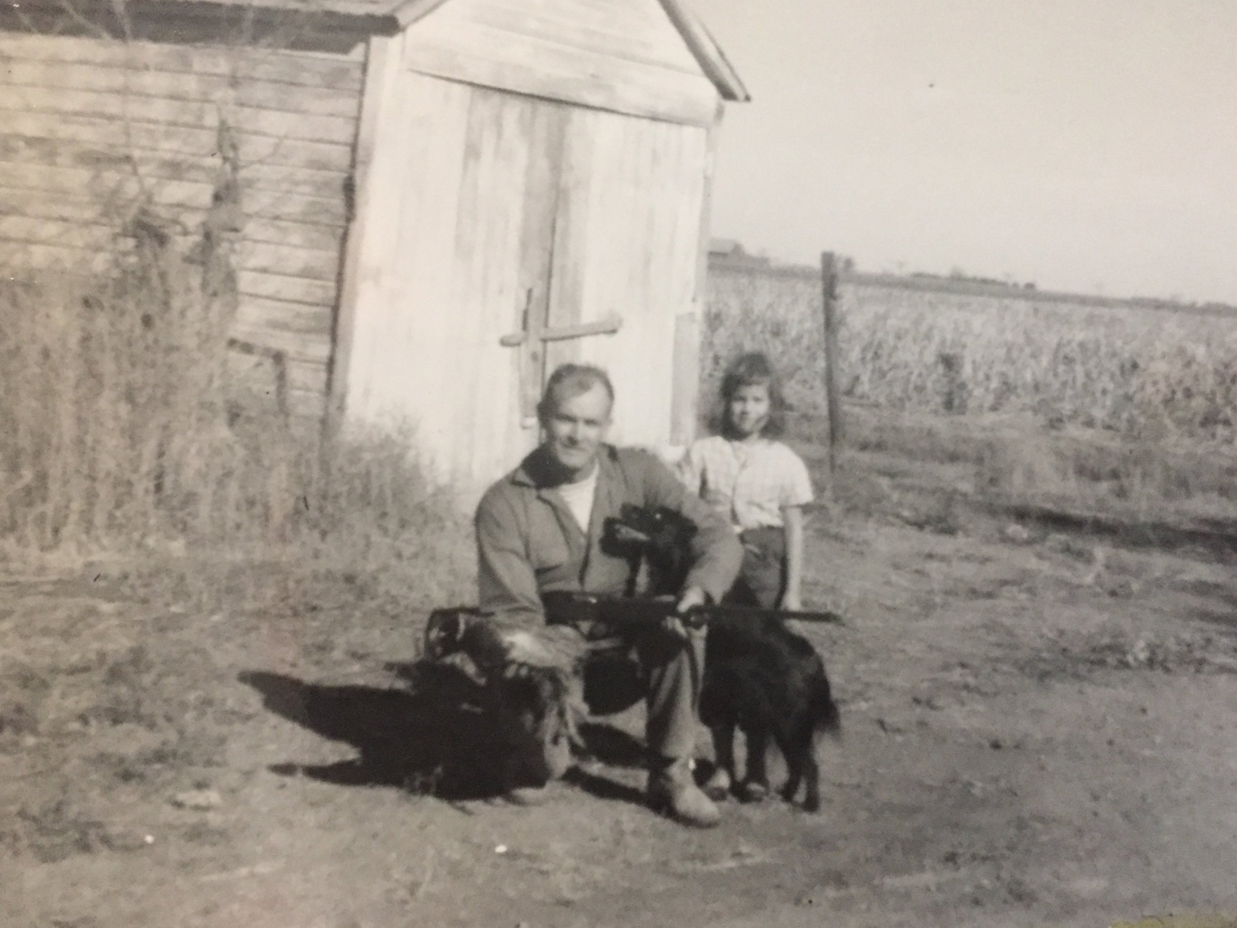 Attorney Nathaniel Gilbert's Grandfather with a pheasant and his daughter, Nathaniel's Mother, in Western KS, 1964. Preserving heritage and memories is the core of every well drafted estate plan; Don't leave your family's tradition to a free form on the internet.