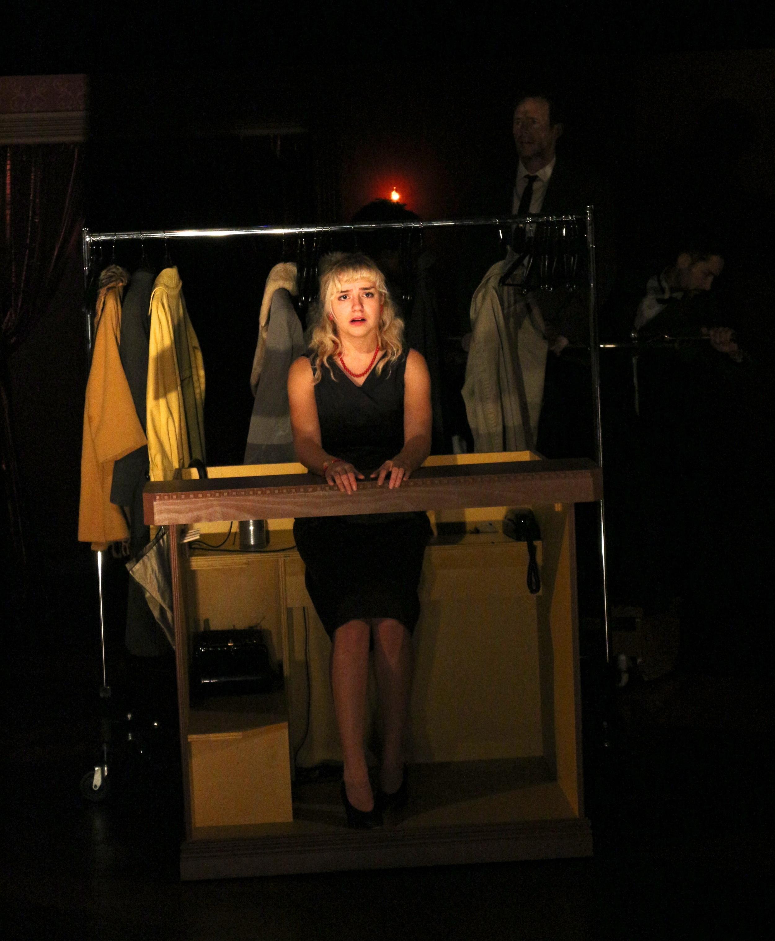 Charlotte Calvert, Red Eye Theater, 2014; photo:Liz Josheff
