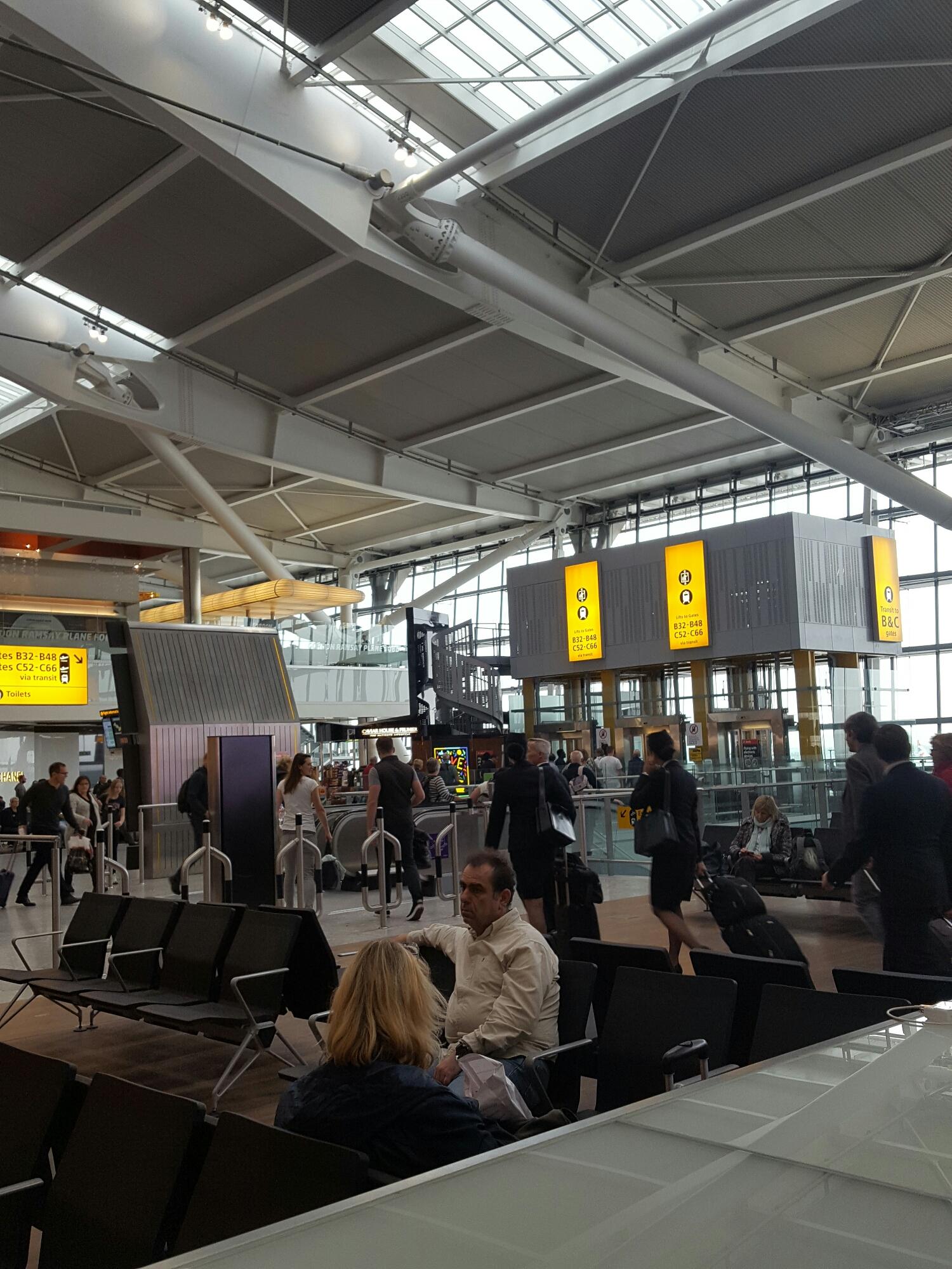 Heathrow London .