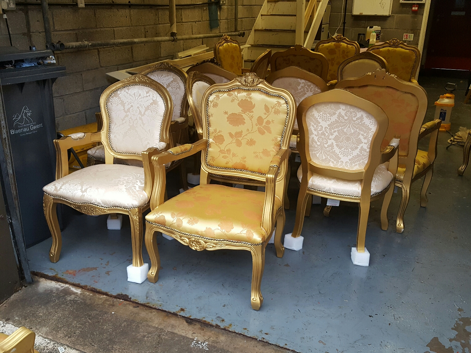 fire proof spraying for upholstery