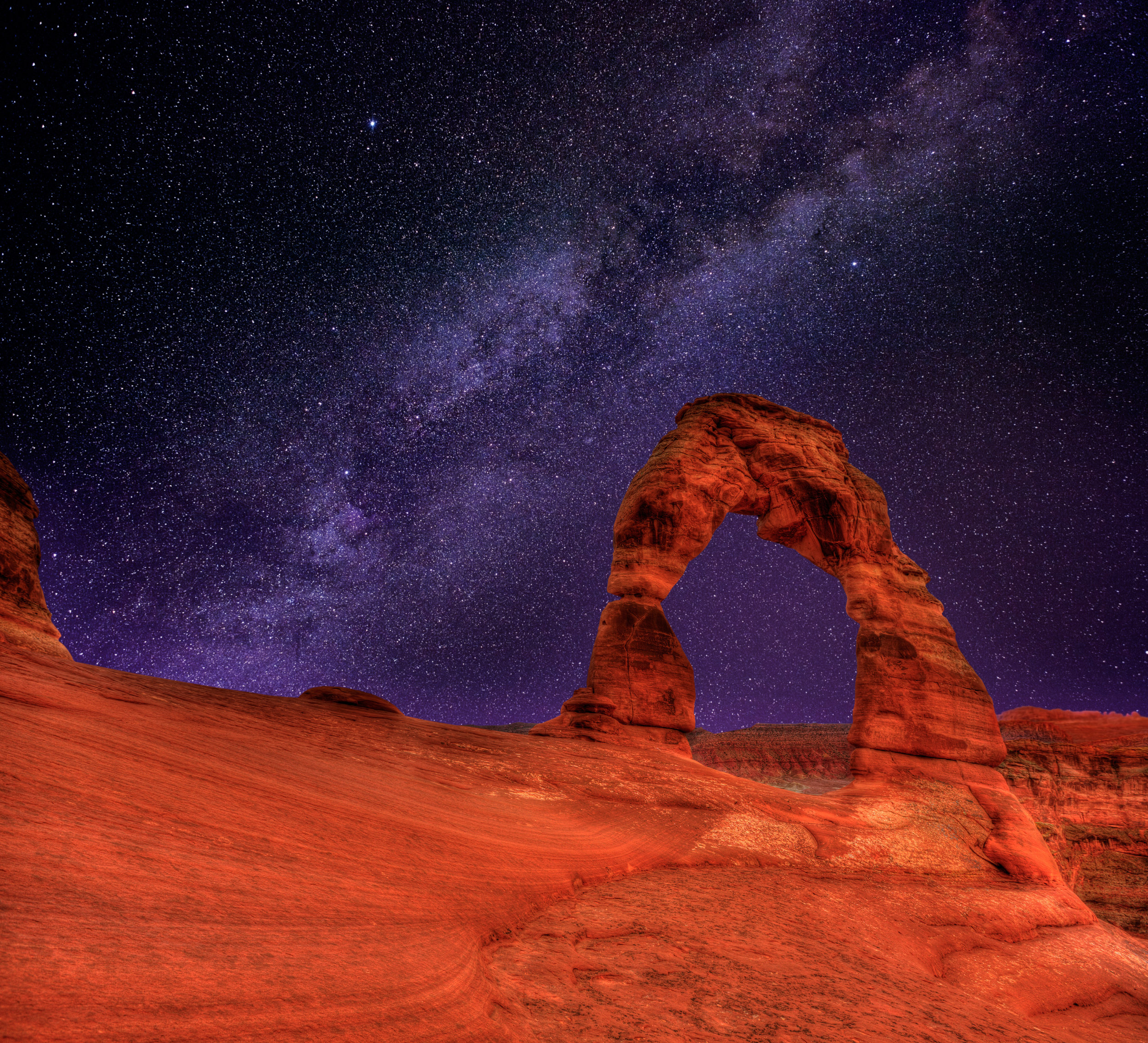 moab utah photography workshop arches national park delicate arch milky way