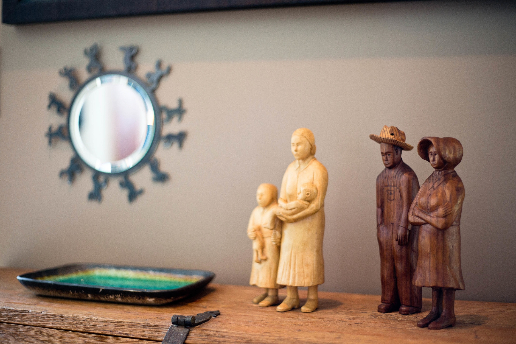 Display of global collection of artifacts by academic and collector. Photo: Matthew Lofton