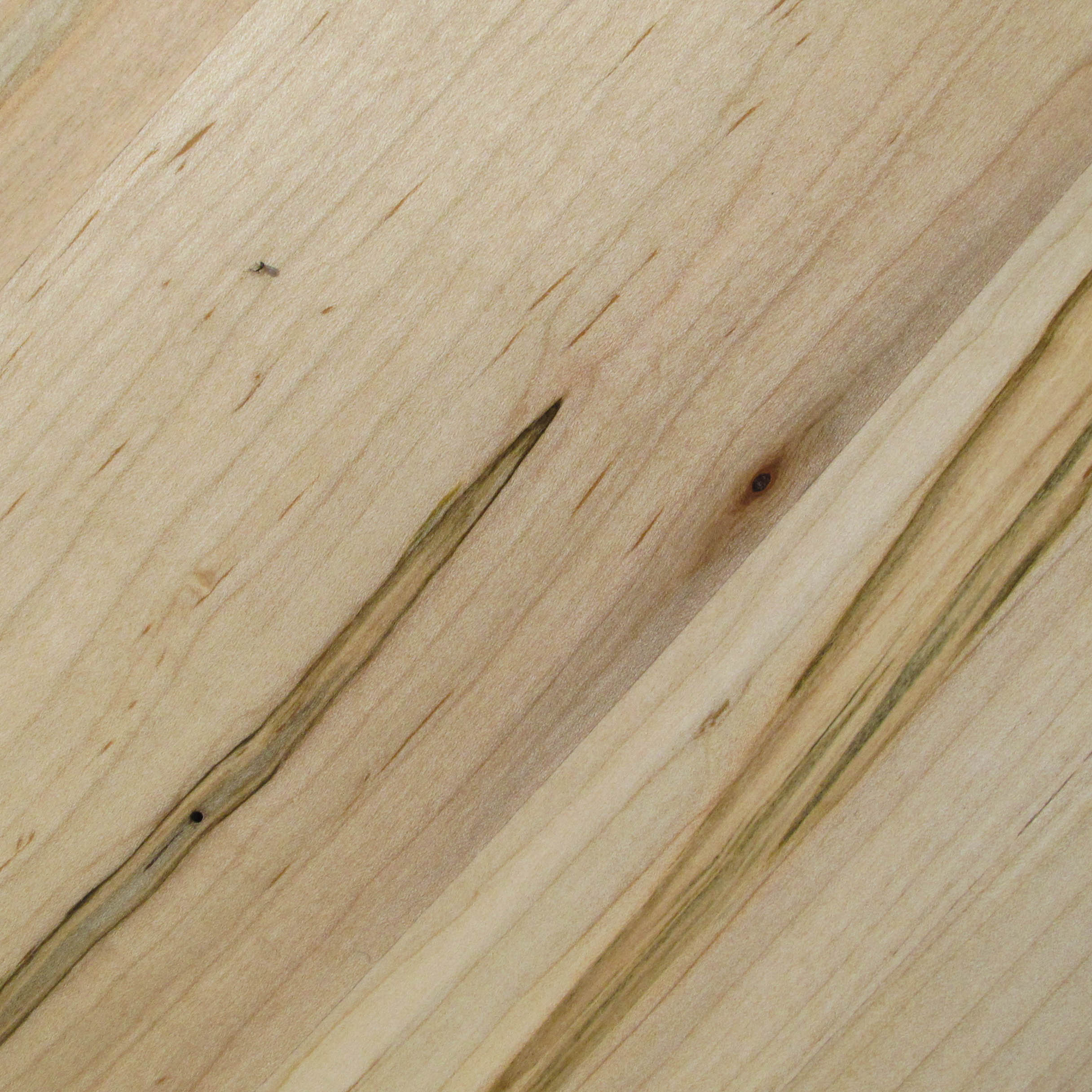 The wood I selected for our Neptune table, our solid maple is selected for maximum grain contrast and natural pitting.