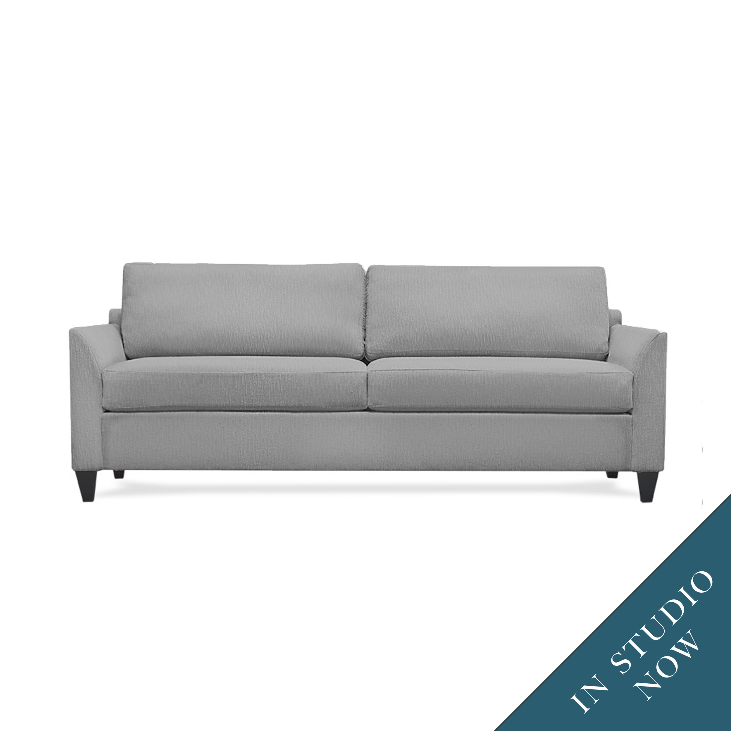 The versatility of our Studio collection grows with the new Greenwich, a sleek sofa with three arm options.