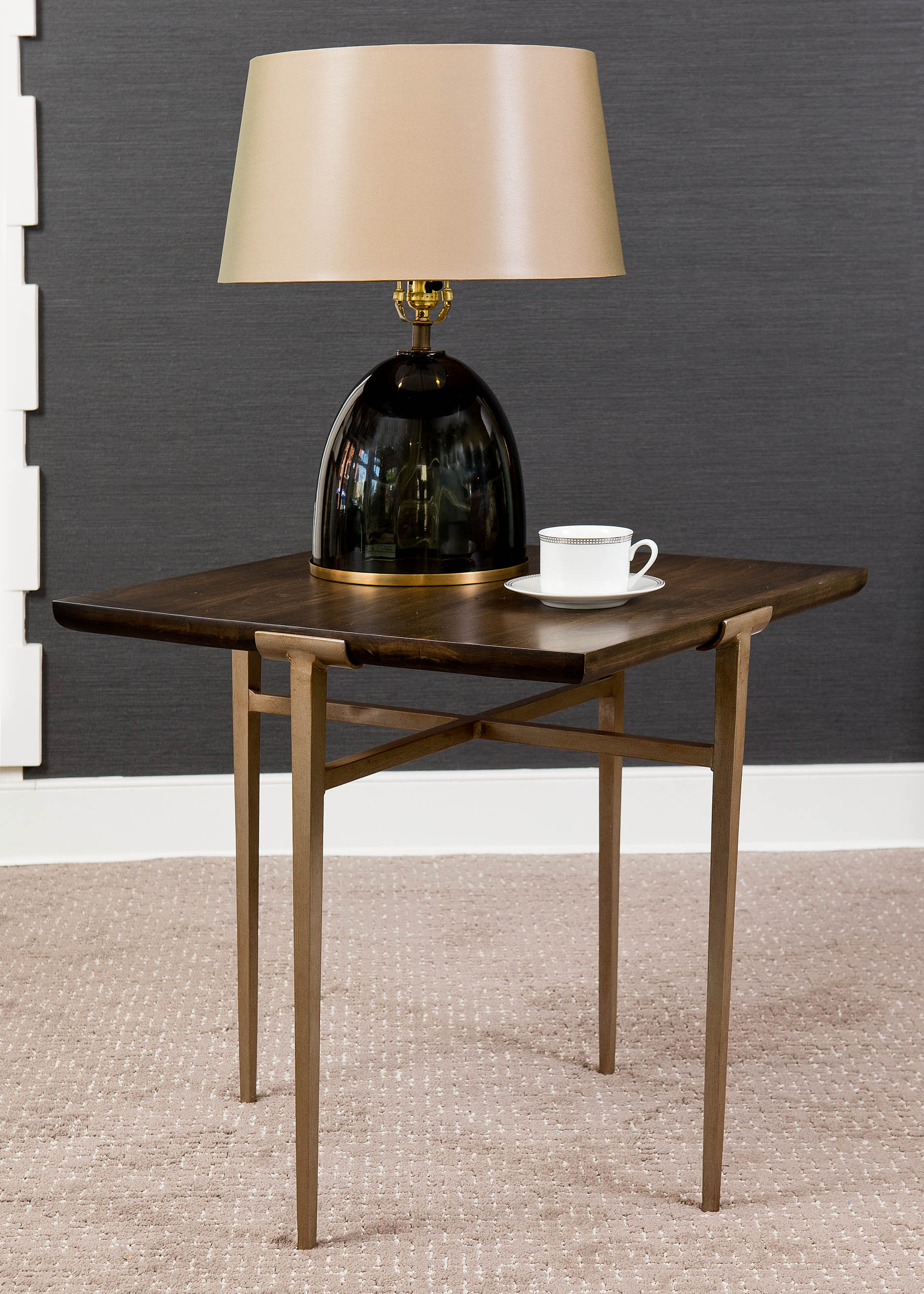 """""""It is not enough for a side table to be only functional. The silhouette and materials should add a spark of interest to your home. """" - Paul Miller, Lookbook 2019"""