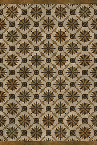 Spicher and Company vintage vinyl is also availible in wood inly patters and we love this new look!