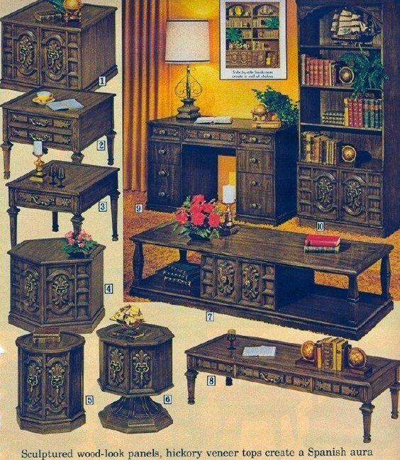 70s Matching Furniture