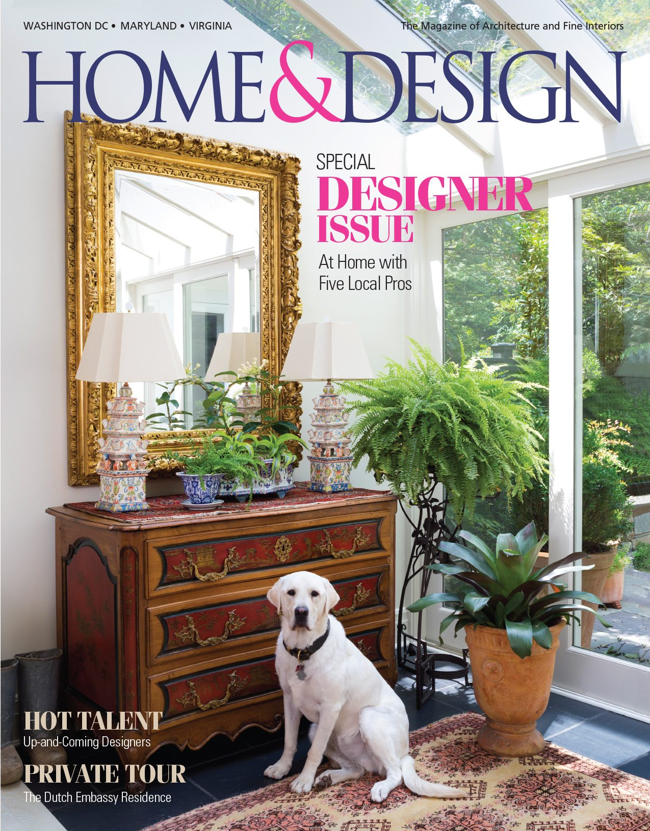 Paul Miller named hot up and coming talent by Home & Design Magazine. Local Winchester, VA homeowner and University President has large collection of global artifacts. Beautifully designed home with lots of personality.