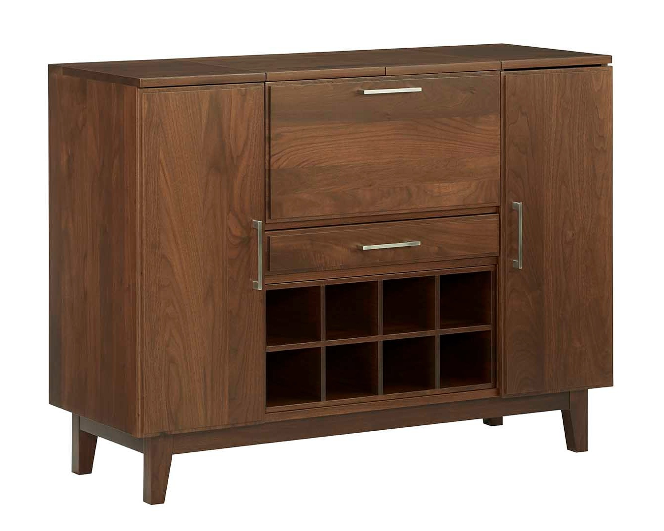The Aero collection serving credenza.  See more in our furniture collections >