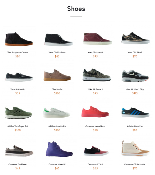 Products with increased prices and free shipping.  Kissmetrics