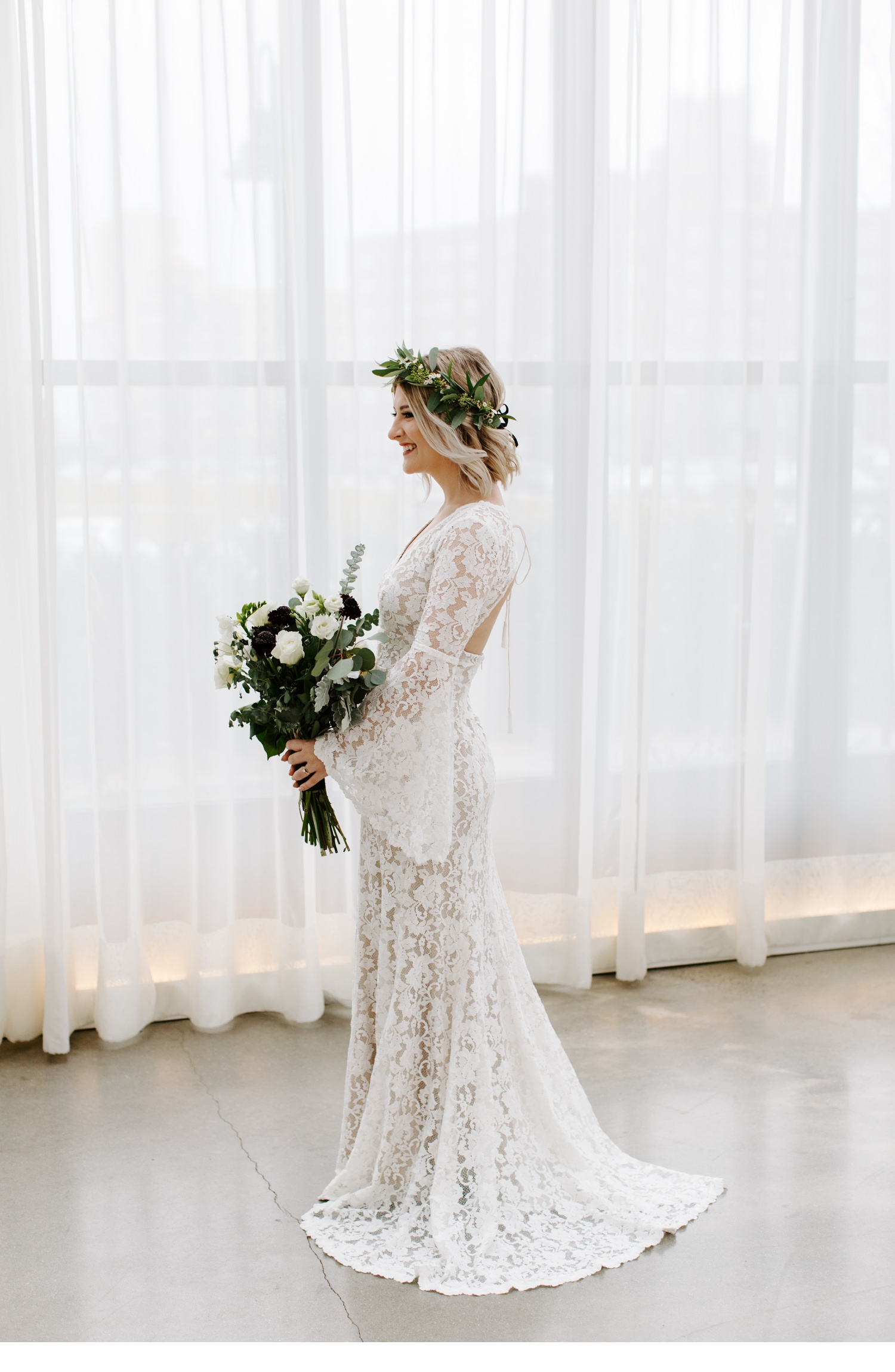 bridal portraits at asbury hotel