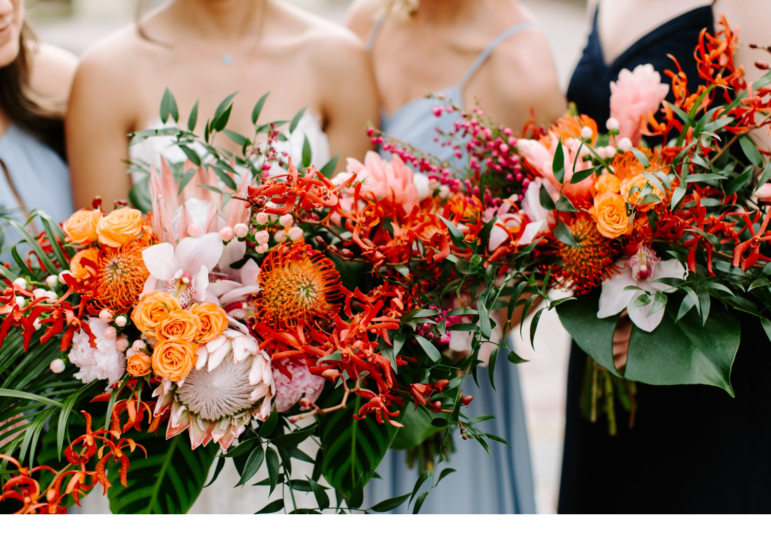 cape san blas wedding florals