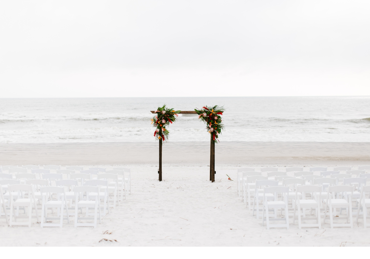 cape san blas beach wedding