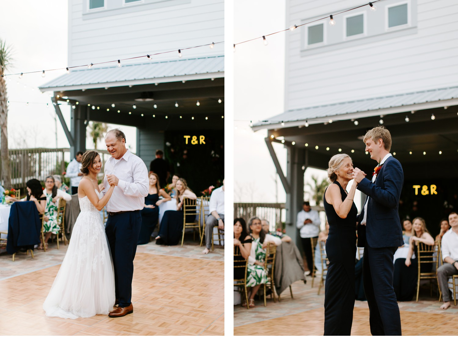 father/daughter and mother/son dance