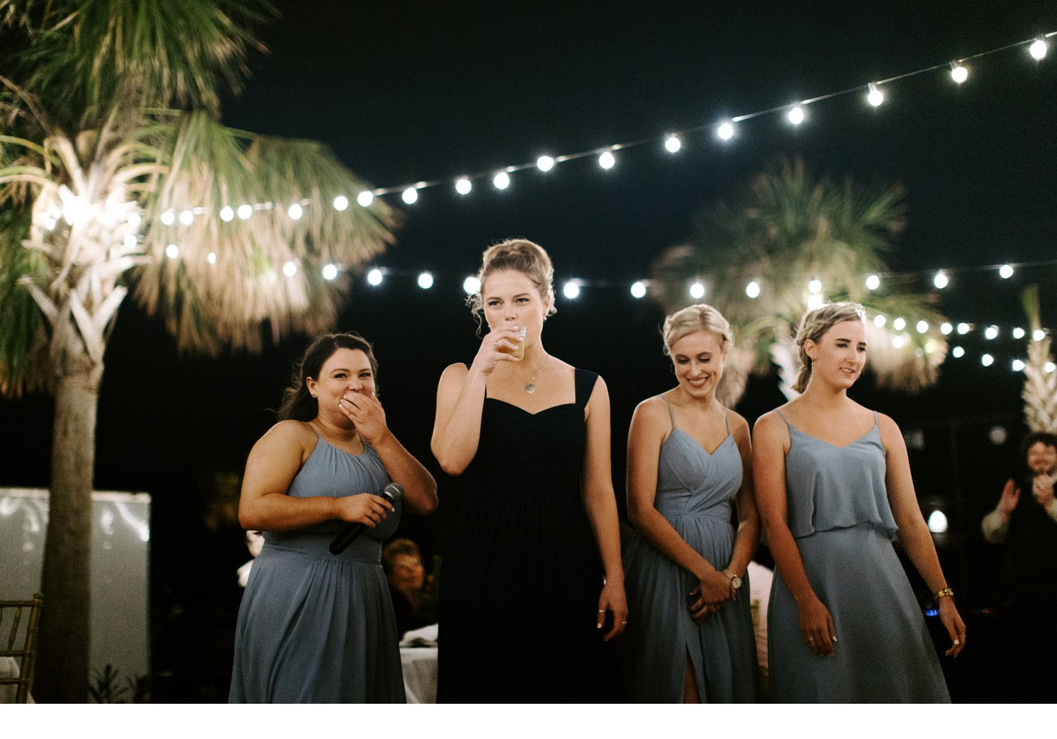 cape san blas wedding toasts
