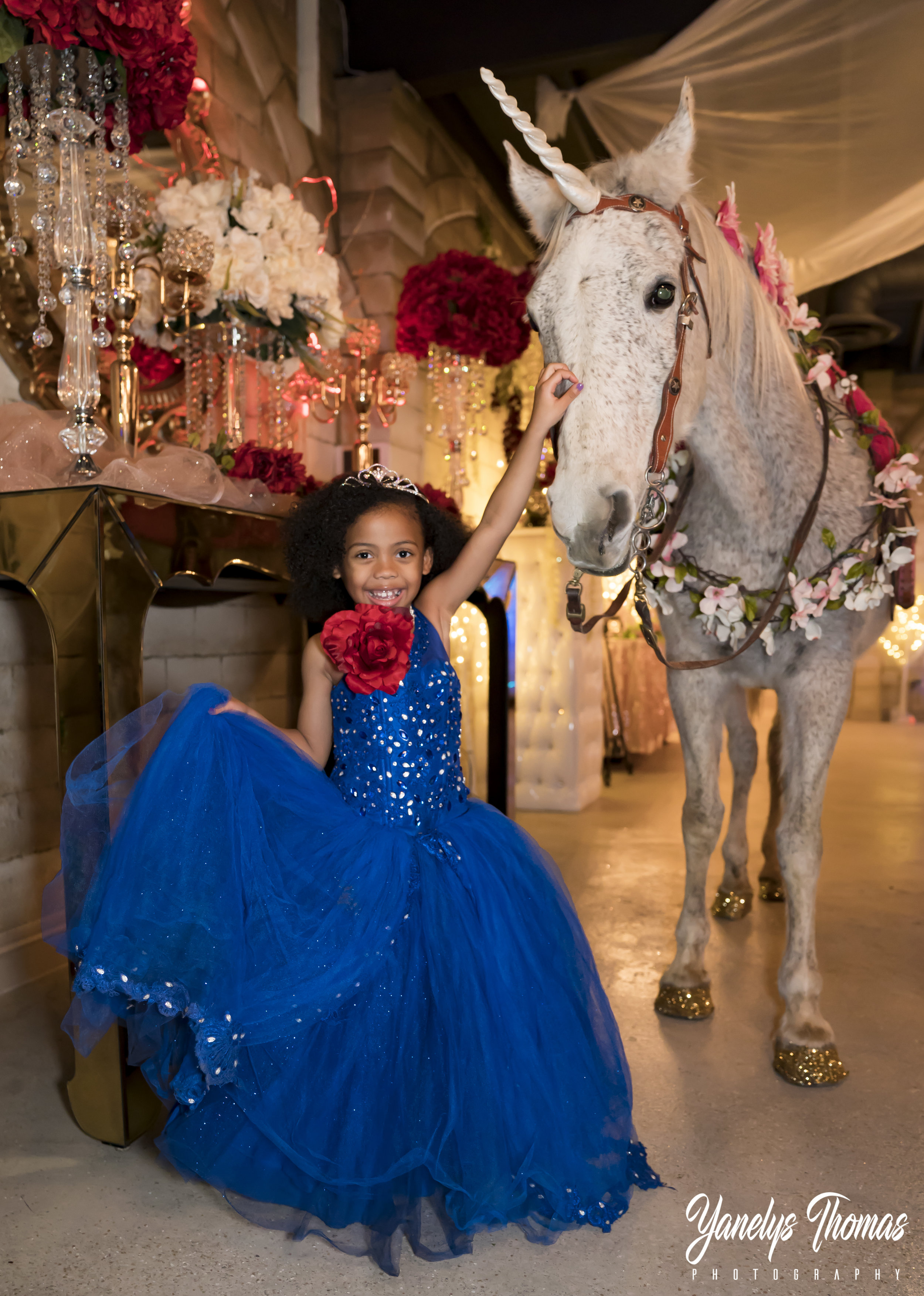 This little princess was the perfect model with her Magical  Unicorn, They both looked like out of a fairy-tale book.    After her photoshoot, little did she know that there was one more surprise waiting for her......