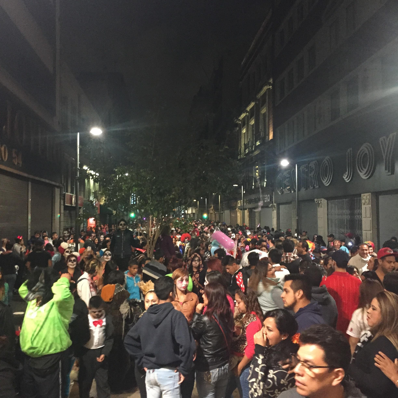 Insane crowds