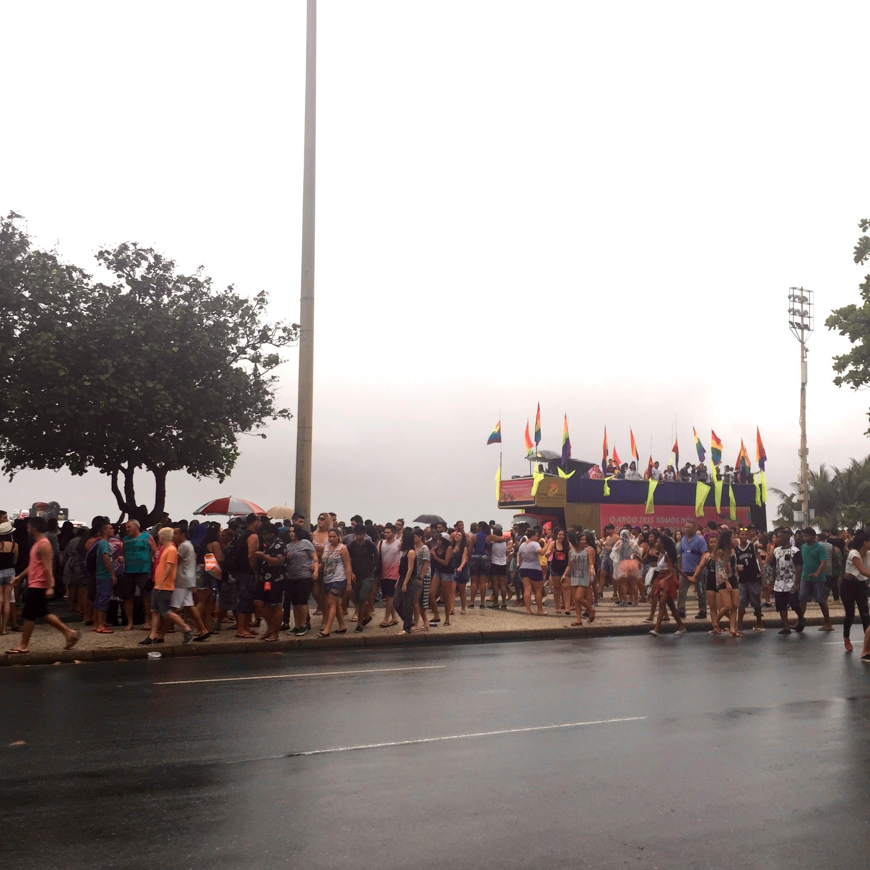 Rain can't stop a celebration!
