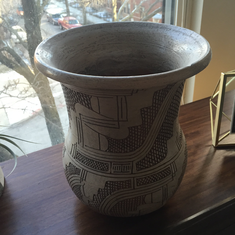 Bad ass vase