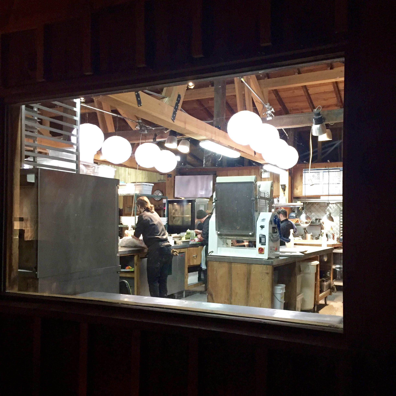 The kitchen....making magic