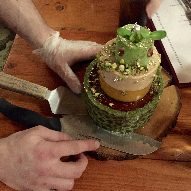 Our 6 person pâté cake