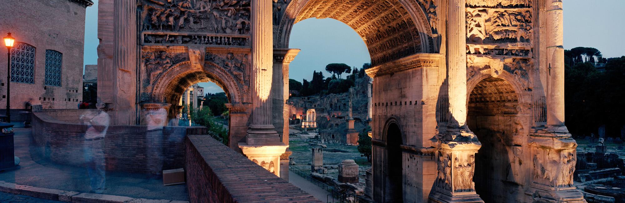 Arco di Settimio Servio, Rome, Italy, 2003