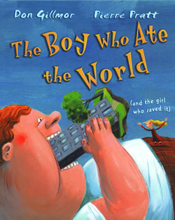The Boy Who Ate the World cover