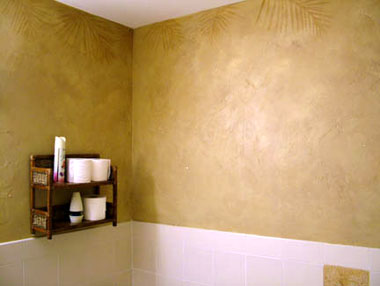Naples Real Estate Office Faux Finish