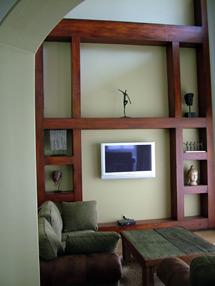 Faux Wood Beam Design