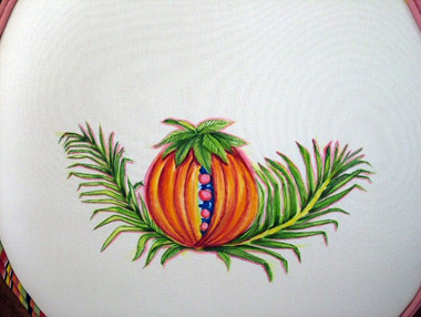 Hand Painted Jamaican Apples