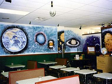 Pizza Restaurant Mural