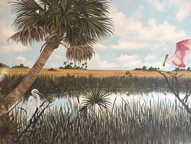 Evergades Mural